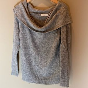 Sophie Rue gray knit sweater XS